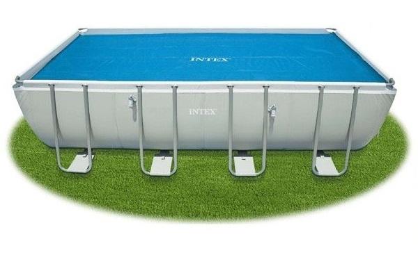 Intex 732cm x 366cm medencére szolár takaró 29027