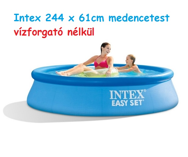 Intex 244x76cm puhafalú medencetest 28110