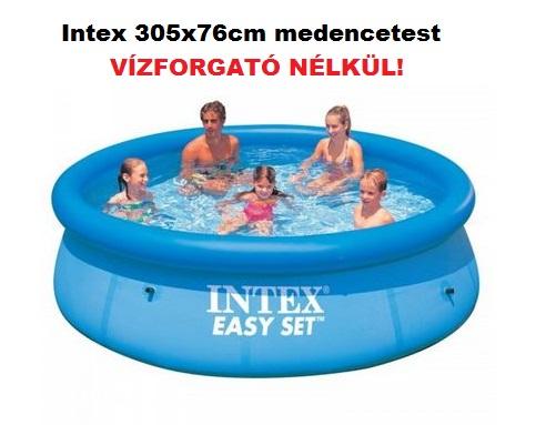 Intex 305x76cm puhafalú medencetest 28120