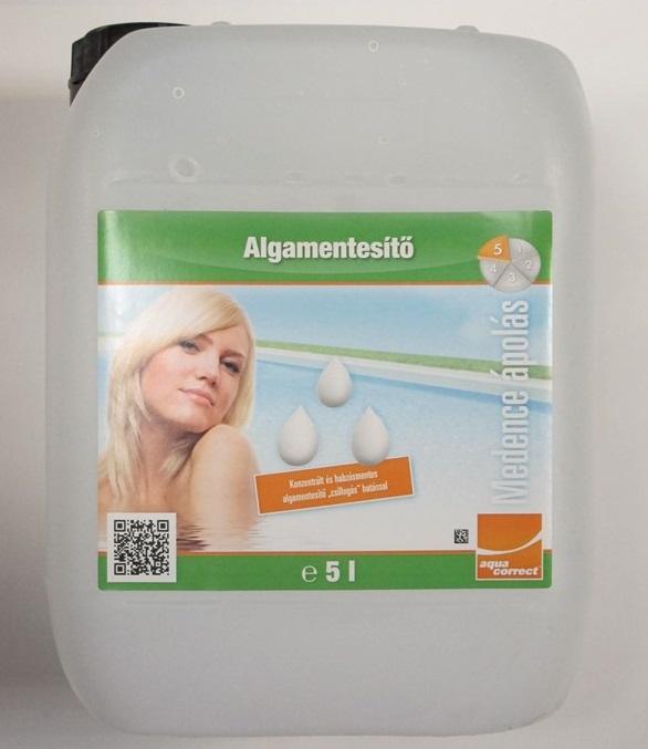 Aquacorrect Algecid habzásmentes algamentesítő koncentrátum 5l AS-150005
