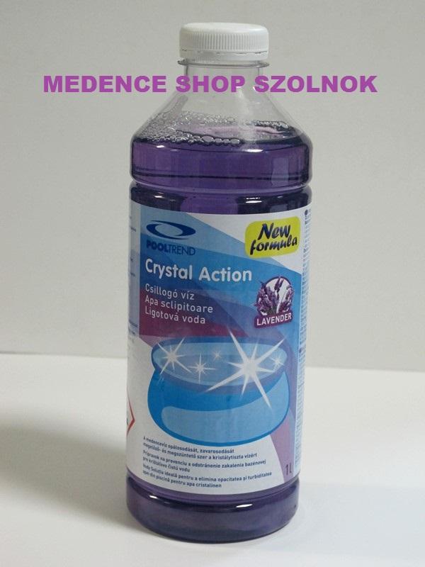 Herbal Crystal Action lila (kristálytiszta víz) 1L Pontaqua HCA 010