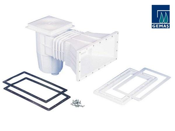 Széles szájú szkimmer fóliás és műanyag medencéhez Gemas AS-011103