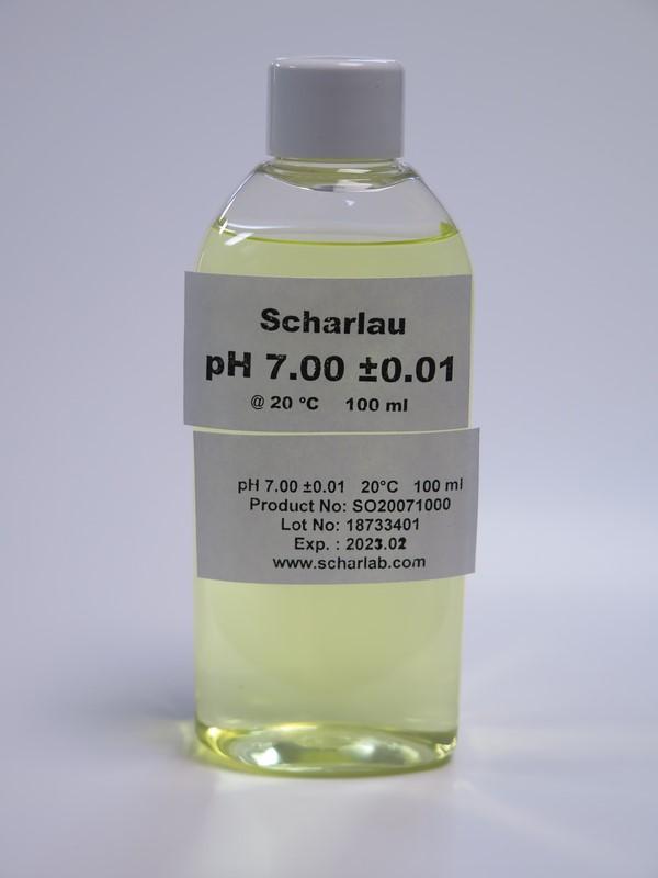 Kalibráló oldat 7.01 pH értékre 100ml Scharlau