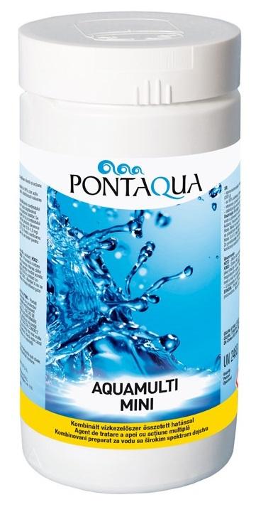 Pontaqua Aquamulti MINI 1kg (klór, algaölő, pelyhesítő) AMM 010