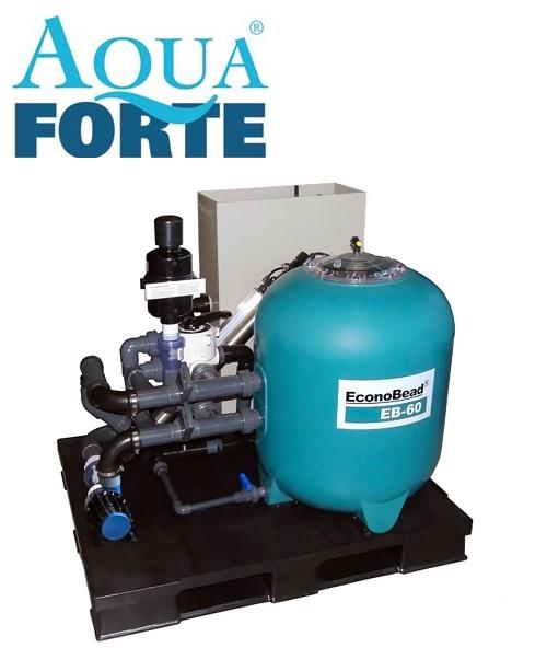 Aquaforte EconoBead komplett EB-60 ECO szűrőrendszer 36m3-es tó méretig SK504