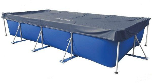 Intex 4,6m x 2,26m takaró téglalap alakú medencére 28039