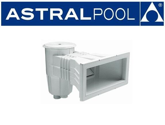 AstralPool Szkimmer trapéz alakú, széles szájnyilással betonos medencéhez  00251