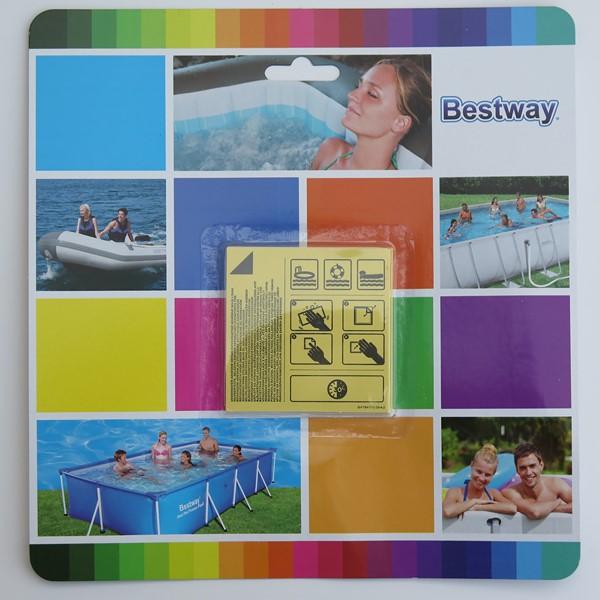 Bestway vízalatti öntapadó javítófolt medencéhez 10db/cs BW 62091