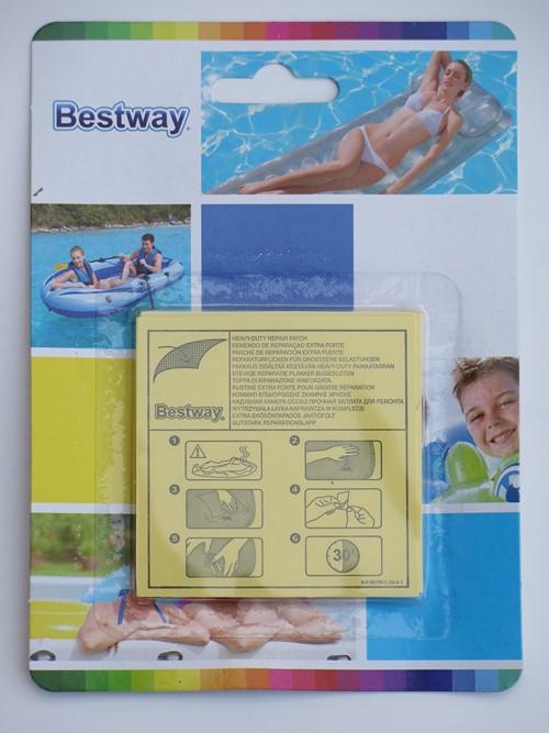 Bestway extra erős medence javítófolt 10db/cs BW 62068