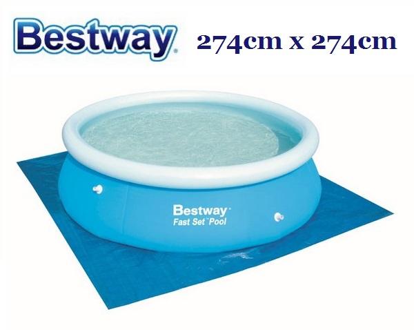Bestway talajtakaró fólia 274cm x 274cm BW 58000