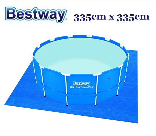 Bestway talajtakaró fólia 335cm x 335cm BW 58001