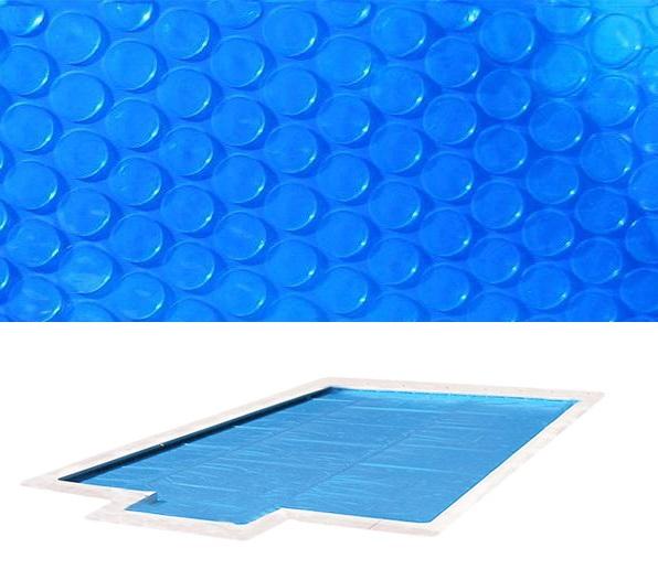 Blue 400 szolártakaró téglalap 5m x 10m medencéhez 400 mikron AS-172030