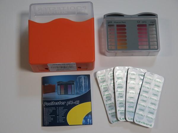 Tablettás vízelemző készlet pH/Cl méréshez Lovibond UVM-2M