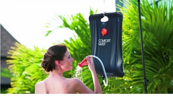 Bestway 20 literes szolár zuhanyzó hőmérővel BW 58224