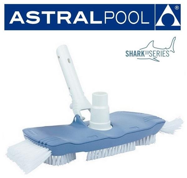 AstralPool Medence porszívófej oldasörtés kefével Shark Series 40997