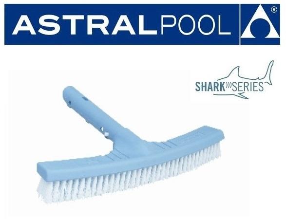 AstralPool Medence faltisztító kefe 33cm széles Shark Series 36616