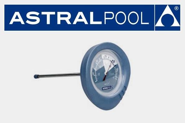 AstralPool Medence hőmérő szondával, 16,8cm kör átmérő Shark Series 36622