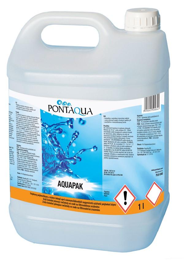 Pontaqua Aquapak folyékony pelyhesítő 5l PLH 050