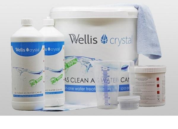 Wellis Crsytal jakuzzi vegyszerkészlet WV00081