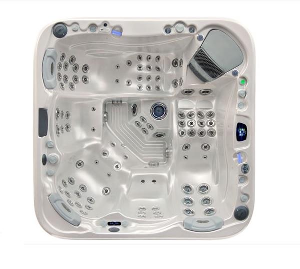 Wellis Everest Premium jakuzzi 236x236x95cm 2 fekvő és 3 ülőhely