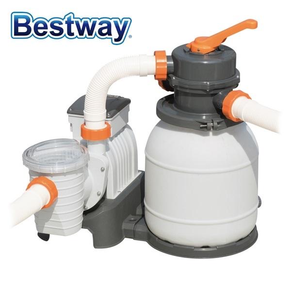 Bestway homokszűrős vízforgató 5,7m3/h 230W 58497