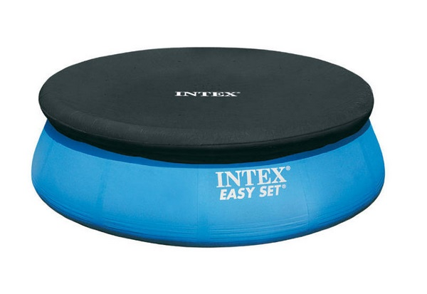 Intex puhafalú medence takaró 244cm átmérőre 28020