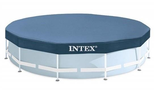 Intex csővázas medence takaró 366cm átmérőre 28031