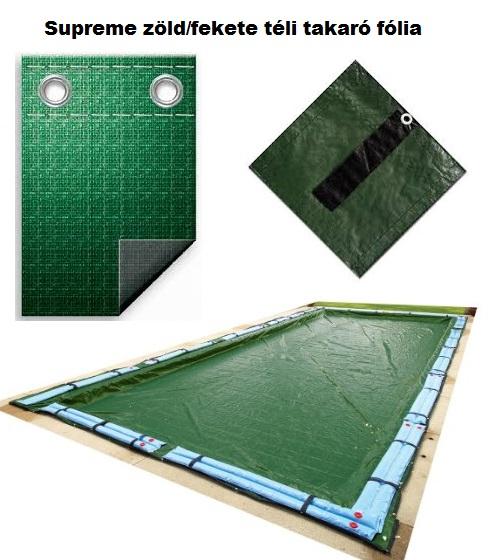 Téli medence takaró fólia 5,8 x 10m TET 002