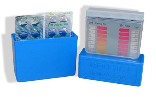 Tablettás vízelemző készlet pH/Br méréshez Lovibond UVM-4