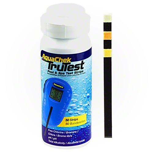 Aquachek TruTest műszerhez tesztcsík 50db/cs pH, FrCl, TA