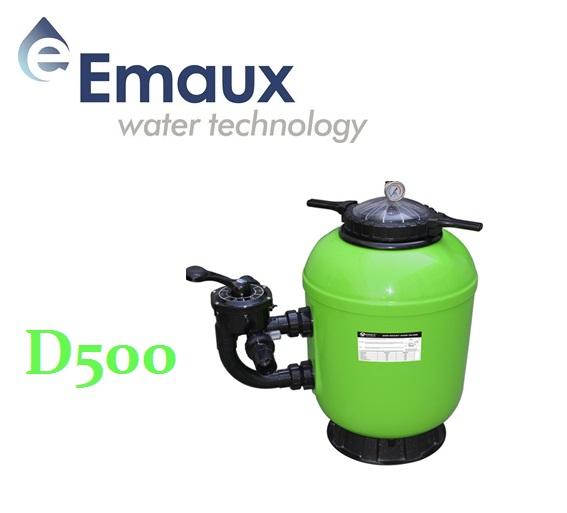 Emaux SMG D500 szűrőtartály ÜPE oldalszeleppel UST-SMG50