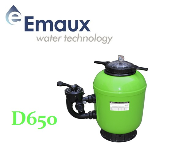 Emaux SMG D650 szűrőtartály ÜPE oldalszeleppel UST-SMG65