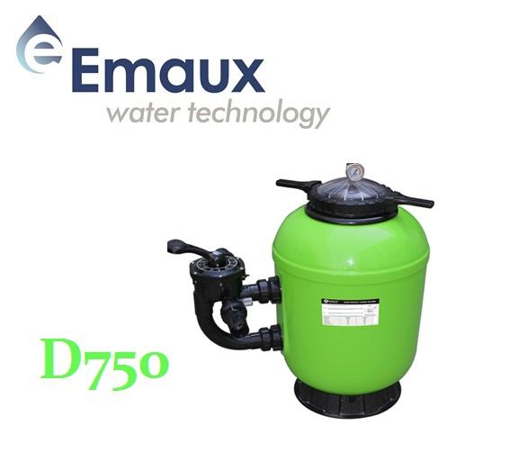 Emaux SMG D750 szűrőtartály ÜPE oldalszeleppel UST-SMG75