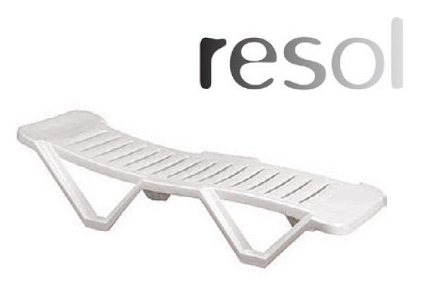 Pihenő és napozóágy közfürdőbe Costa Brava RESOL000124
