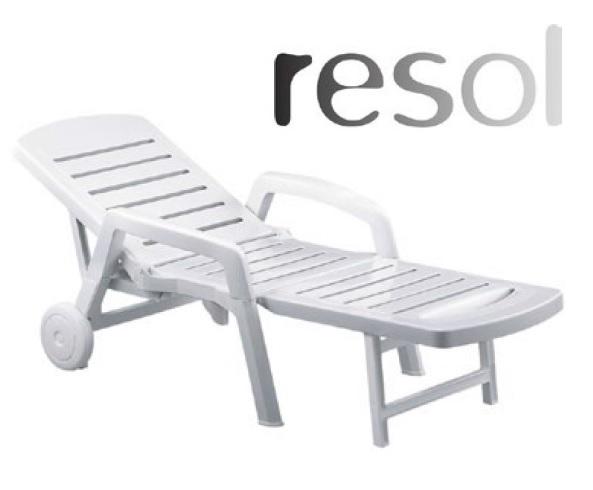 Pihenő és napozóágy közfürdőbe PALAMOS RESOL000116