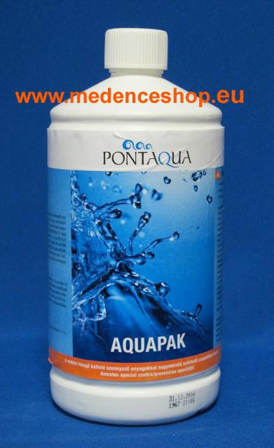 Pontaqua Aquapak folyékony pelyhesítő 1l PLH 040
