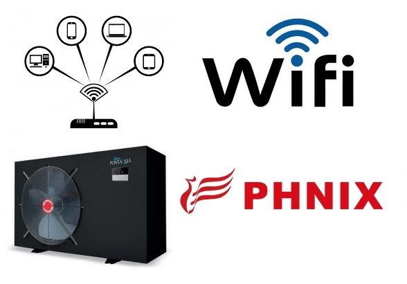 Pontaqua hőszivattyúkhoz WIFI modul PHNIX HSP 999