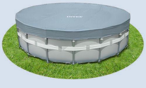Intex csővázas medence takaró 488cm átmérőre 28040