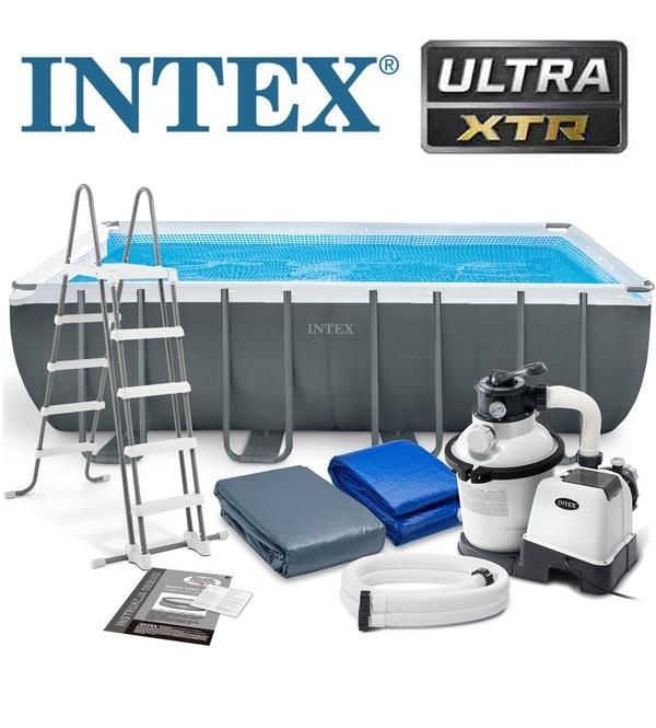 Intex 549x274x132cm Ultra XTR fémvázas medence szett homokszűrővel 26356