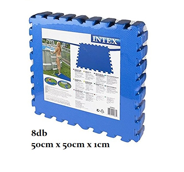 Intex puzzle PE szőnyeg 50x50x1cm 8db/cs 29081