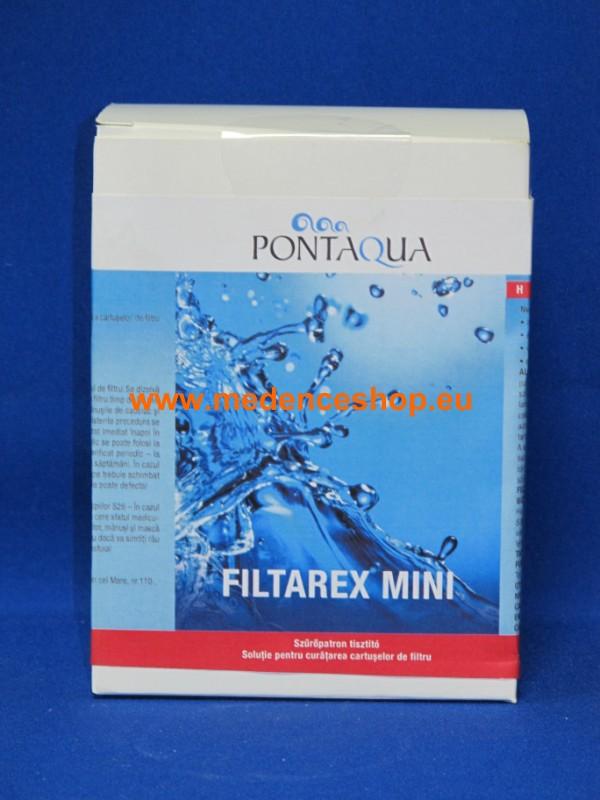 Pontaqua FILTAREX MINI 300g szűrő tisztító REX 003
