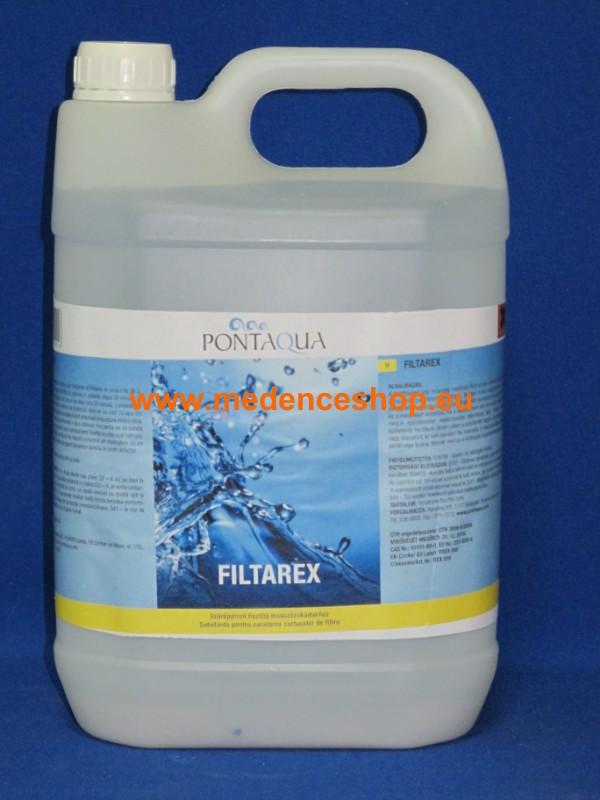 Pontaqua FILTAREX 5l szűrő tisztító REX 050