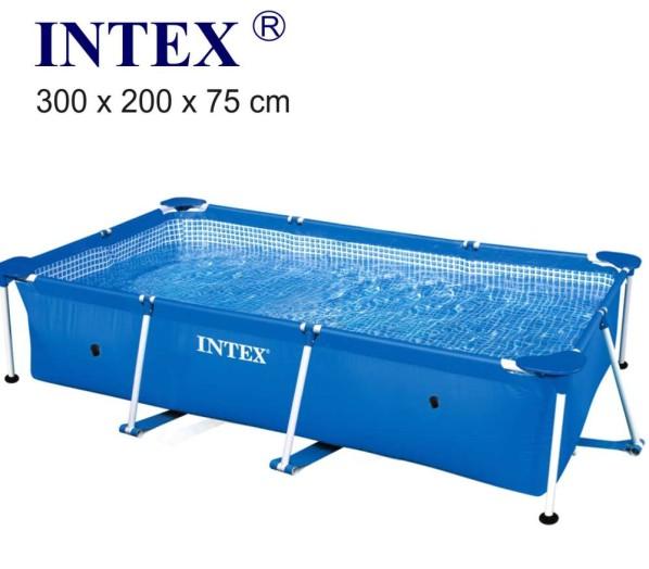 Intex 300x200x75cm fémvázas medencetest 28272