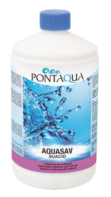 Pontaqua Aquasav 1l folyékony pH csökkentő KEN 010