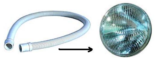 Reflektor kötőcső AS-02010018
