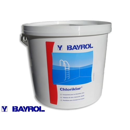 Bayrol Cloriklar 5kg mini klórtabletta UV-BCHL05