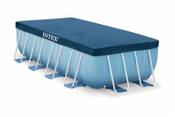 Intex 4m x 2m takaró fólia téglalap alakú medencére 28037