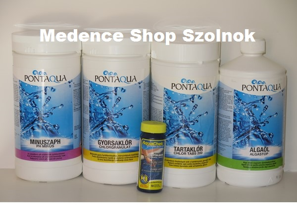 Pontaqua induló medence vegyszerkészlet VKL 100