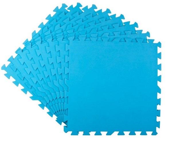 Bestway 50x50cm kék PUZZLE szivacs 4mm vastag 2m2 8db/cs 58220