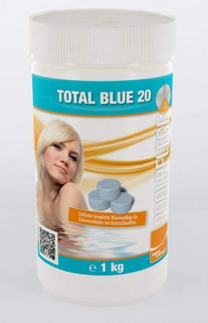 Aquacorrect Total Blue 20g kombi tabletta 1kg AS-150051